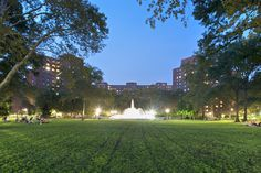 The Oval Fountain - Stuyvesant Town in New York, NY