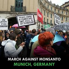 March against Monsanto-Germany No GMOS