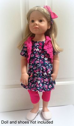 18/20  dolloutfit to fit Happy Kidz, American Girl, Gotz Precious Day and others