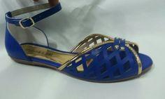Sandálias para o Verão azul 609
