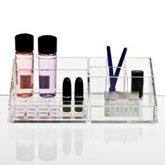 Clear Make Up Organizer from Nomess...need more of these