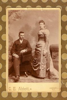 Antique Cabnet Photo 'The Pedegrews' add to a by artsygemini, $2.50