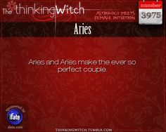 Thinking Witch Aries Fact for today