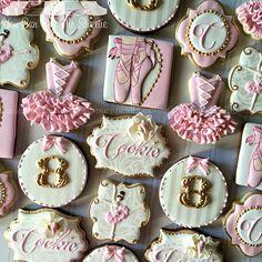 It's a Ballerina Soiree for Cookie's 8th birthday celebration!!!! #decoratedcookies #decoratedsugarcookies #decoratedcustomcookies #customsweets #customcookies #customdecoratedcookies #cookieart #cookiefun #cookielove #edibleart #sugarart #ballerina #tutu #pink #cookie #8 #pink