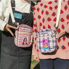 Discover recipes, home ideas, style inspiration and other ideas to try. Fashion Handbags, Fashion Bags, My Bags, Purses And Bags, Aesthetic Bags, Cute Backpacks, Vintage Backpacks, Harajuku Fashion, Harajuku Japan