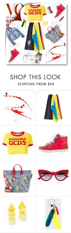 """Watching Goldfish Jump"" by rita257 ❤ liked on Polyvore featuring Roksanda, GCDS, Chanel, Dolce&Gabbana, Misa, Marques'Almeida, Butter London, men's fashion and menswear"