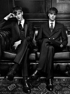 Ben Allen & Robert Laby Photographed by Damon Baker for GQ Russia
