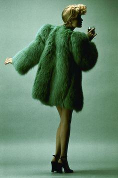 Saint Laurent. Scandal Collection. 1971. Elle magazine.
