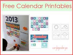 Free Calendar Printable.