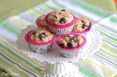 PB Blueberry Banana Muffins- 12 Healthy Snacks for Kids - ParentMap