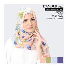 Pashmina Hijab Tatuis - D'Amour 045