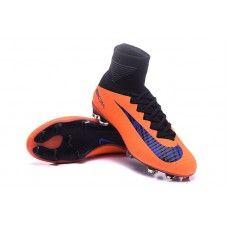 the latest 2288d 830ac NIke Mercurial Superfly V FG Bright Mango-Purper goedkope voetbalschoenen  Cheap Football Shoes, Nike