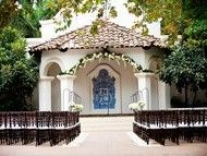Rancho Las Lomas - Garden Setting view wedding reception locations - Silverado Canyon - Orange County - Southern California