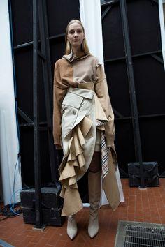 Erika Cavallini AW17 womenswear milan mfw dazed