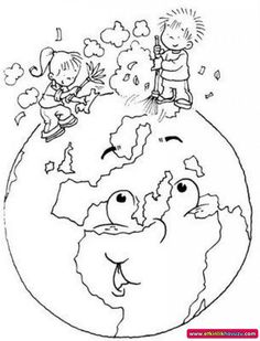 30 Earth Drawings to Color and Print - Free Online Courses - 30 Earth Drawings . - 30 Earth Drawings to Color and Print – Free Online Courses – 30 Earth Drawings to Color and Pr - Earth Day Coloring Pages, Colouring Pages, Coloring Sheets, Coloring Books, Earth Day Drawing, Earth Drawings, World Earth Day, Save Environment, Earth Day Crafts