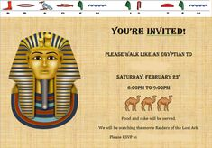 egyptian themed party decor - Egyptian Themed Party Perfect Ideas for You – Home Party Theme Ideas