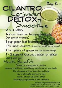 Detox recipe Repinned by www.eatloveraw.com #health #organic #superfood