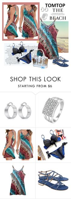 """""""TOMTOP+ 30"""" by carola-corana ❤ liked on Polyvore featuring Steffen Schraut, Lambertson Truex, tomtop and tomtopstyle"""