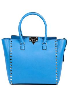 Ten new classic bags to add to your collection, including this Valentino tote, here: