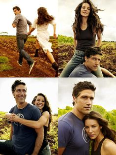 Evangeline Lilly / Kate & Matthew Fox / Jack from Lost <3