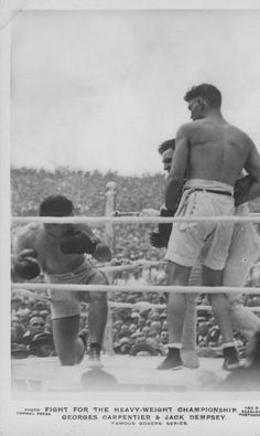 Jack Dempsey vs. Georges Carpentier 1921