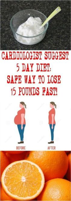 CARDIOLOGIST SUGGEST 5 DAY DIET: SAFE WAY TO LOSE 15 POUNDS FAST! – 365 Aims