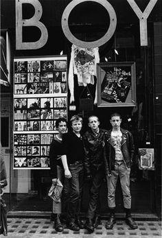 Boy, Kings Road, 1979