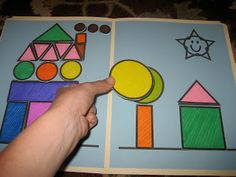 Toddler Approved!: Mom Project: Shape Town file folder game