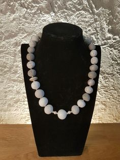 Pearl Necklace, Beaded Necklace, Pearls, Jewelry, Minerals, Silver, Creative, String Of Pearls, Beaded Collar