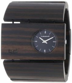 Vestal Women's RSW004 Rosewood Burnt Ebony Wood Bangle Watch Vestal. $68.99. Perfect for the office, the beach, or the club. Water-resistant to 165 feet (50 M). Solid mineral crystal. Quality Japanese-Quartz movement. The Vestal Women's Rosewood Watch brings a timely twist to a fashionable and fun bracelet with 50mm-wide all-wood links, simple three-hand style, and quality construction.Product FeaturesHousing Material: stainless steelStrap Material: woodHeart Rate Monitor:...