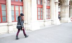 oxblood pants – fall fashion trend