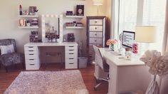 Current Beauty Room Set Up!