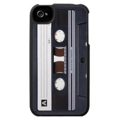 Cassette Tape iPhone 4 Cover