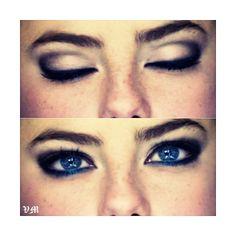 kaya scoledario | Tumblr ❤ liked on Polyvore featuring beauty products, makeup, kaya scodelario, people, skins and eyes