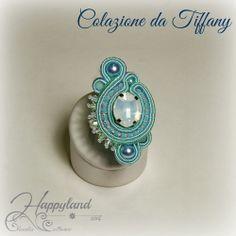 ref 017 tiffany Boho Jewelry, Jewelry Crafts, Jewelery, Handmade Jewelry, Diy Earrings, Tassel Earrings, Paper Quilling Jewelry, Soutache Necklace, Rings Cool