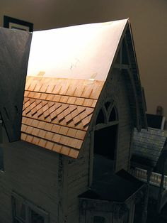 Roof shingling, part 1 by Otterine