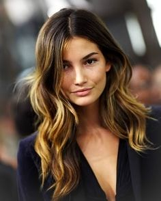 perfect brown hair