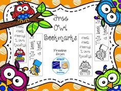 FREE Owl Bookmarks  Whooooooo's excited for the end of the school year? Give your littles a fun end of the year gift with these cute owl bookmarks. There are 4 bookmarks in this download: 2 in color and 2 in black and white for your little friends to color themselves.  Just click HERE for your freebie. I'd love to hear what you think of these fun little owls.  Hope you enjoy!  3-5 A Teacher's Bag of Tricks Bookmarks K-2 owls The Book Bug
