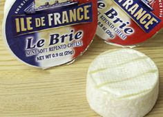 Ile de France Brie Bites love love love these I like cute little portable foods so cute and delish!!!