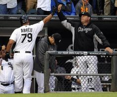 Abreu ALPlayer and Rookie of the Month–Again