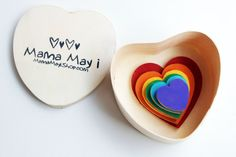 Sizing Hearts: A Montessori & Waldorf Inspired Size Order Relations Game (from Mama May I via Etsy)
