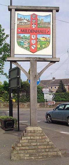 Mildenhall, Suffolk. My brother was stationed at RAF Mildenhall.