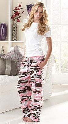summer outfits Women's Camo Cargo Sweatpant Lounge Pajama Pants