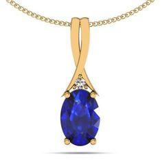 A beautifully confined oval tanzanite of 0.900 carats in a yellow colored gold chain of 14k gives a lavish look on wearing. With a standard size of 6.5*4.5 MM, it looks extremely classy and elegant.
