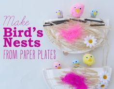10 Bird crafts for kids - http://www.diycraftsblog.com/10-bird-crafts-for-kids/ #Bird, #Crafts, #Kids