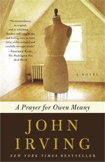 """A Prayer for Owen Meany by John Irving: one of my all time favorite books.such a great story & such unforgettable characters.""""I am doomed to remember a boy with a wrecked voice"""" I Love Books, Great Books, Books To Read, Big Books, Amazing Books, Music Books, John Irving Books, Prayer For Owen Meany, I Love The World"""