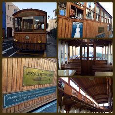 MUSEO DEL JUGUETE. Tranvía que se ubica afuera del museo de juguete y te lleva gratuitamente al museo de Arte Moderno.