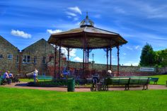 Beamish Bandstand HDR