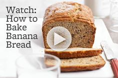 Love Banana Bread? Check out our secrets to achieving the most delicious result: http://www.bhg.com/videos/m/61090976/how-to-bake-banana-bread.htm?socsrc=bhgpin100812videobakebananabread
