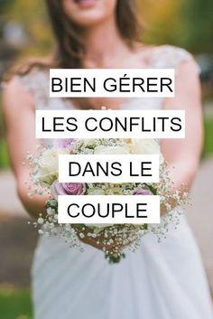 Lorsque l'on vit en couple, la vie n'est pas un long fleuve tranquille !!! Avec une meilleure appréhension de la situation on arrivera à gérer les conflits et s'en trouvée grandit !!